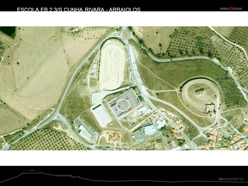 BBARQUITECTOS ESCOLA EB 2,3/S CUNHA RIVARA - ARRAIOLOS