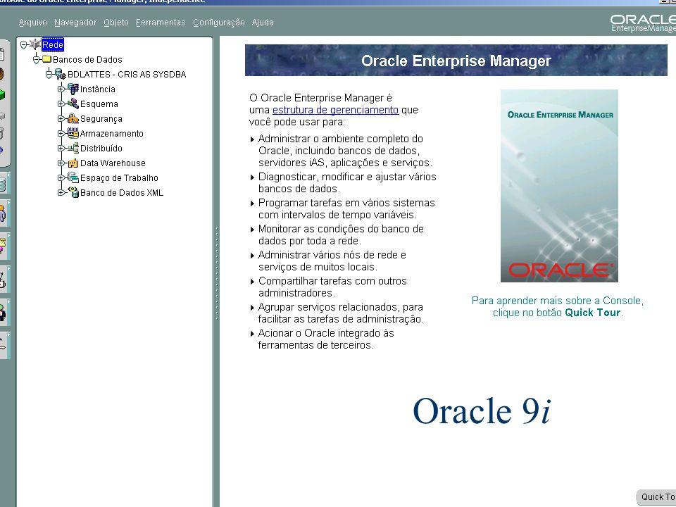 Banco de Dados 4 Oracle 9i
