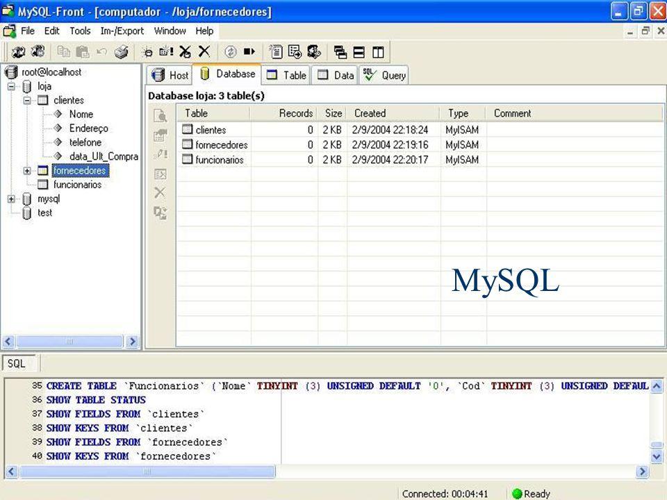 Banco de Dados 6 MySQL