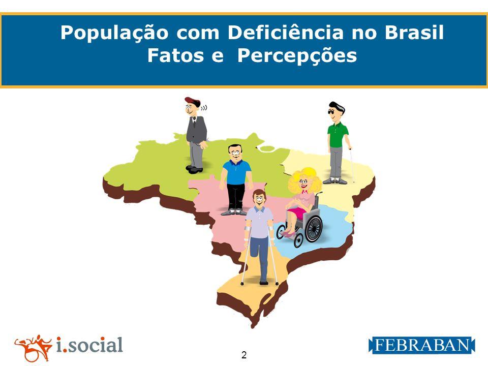 2 População com Deficiência no Brasil Fatos e Percepções