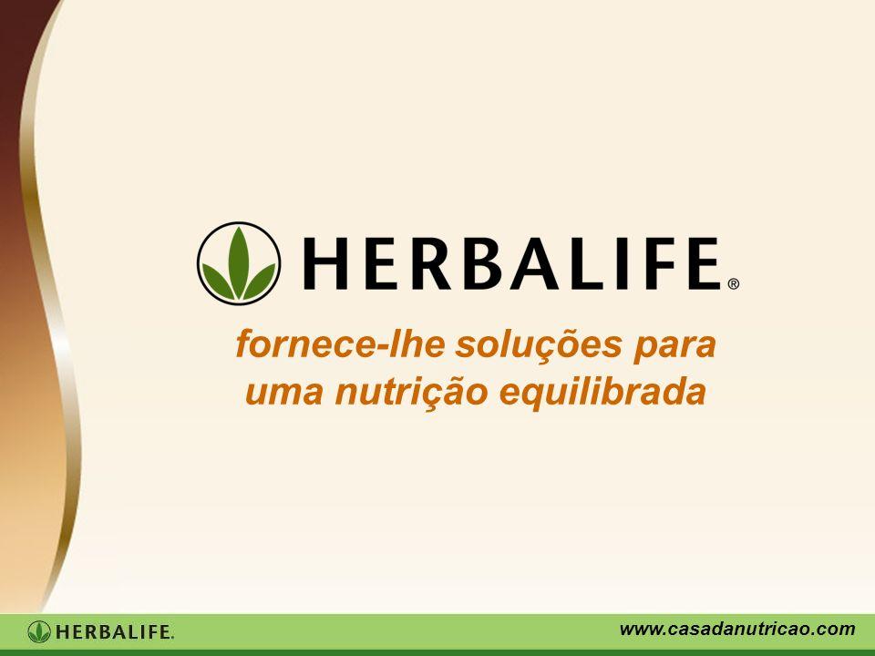 www.casadanutricao.com fornece-lhe soluções para uma nutrição equilibrada