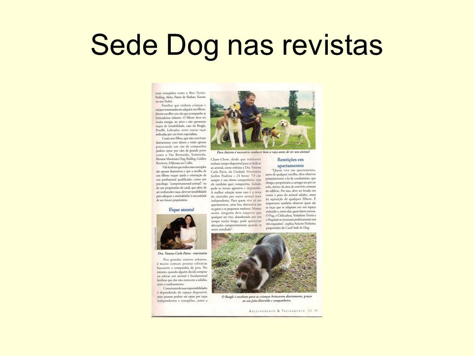 Sede Dog nas revistas