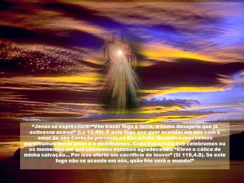 Estar voltado para Deus amando o Amor que se doou. Refletimos com Paulo: Tereis assim a capacidade de compreender com todos os santos qual a largura,