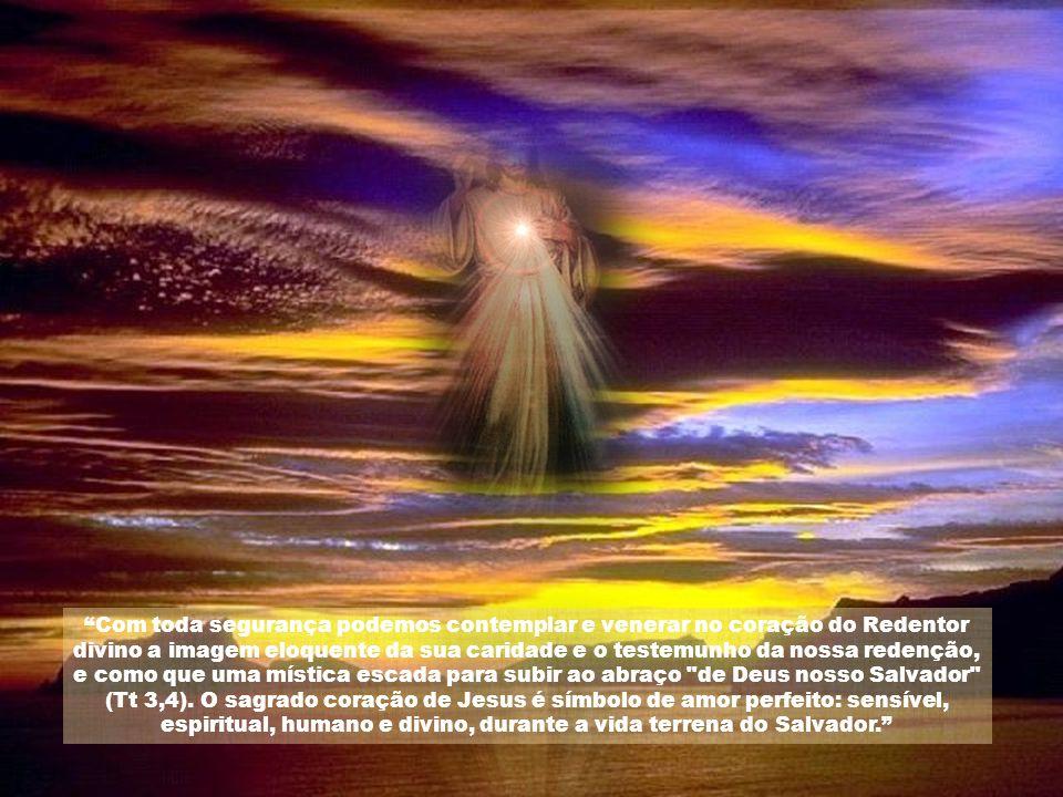 Jesus se expressara: Vim trazer fogo à terra, e como desejaria que já estivesse aceso! (Lc 12,49). É este fogo que quer acender em nós com o amor de s