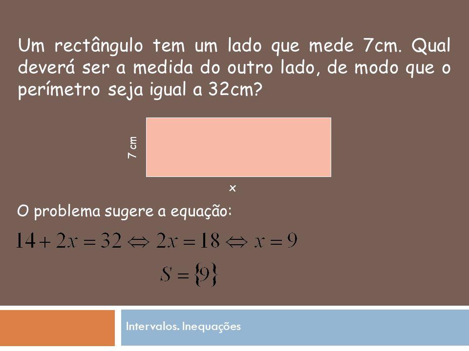 Um rectângulo tem um lado que mede 7cm.