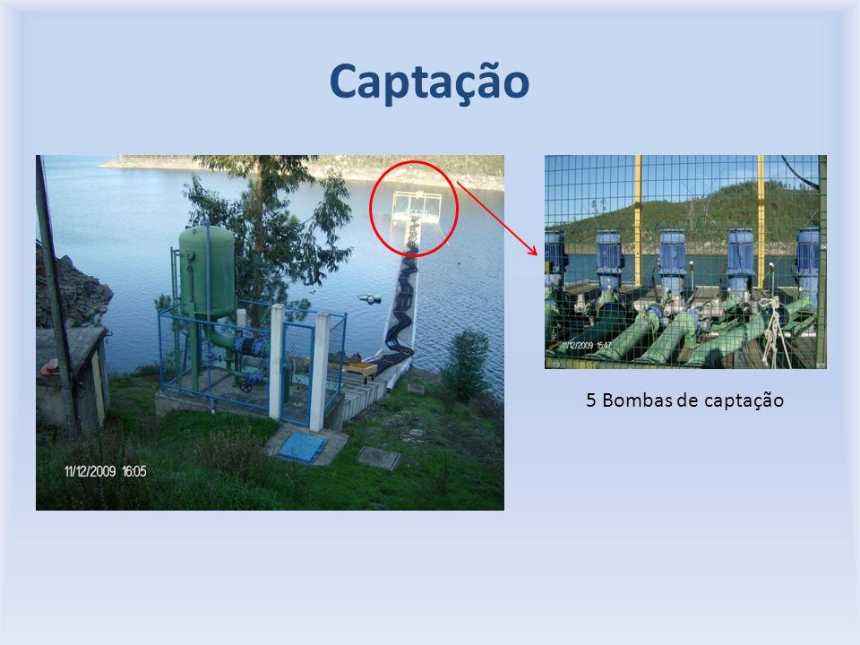 Captação 5 Bombas de captação