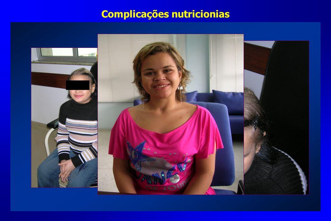 Complicações nutricionias