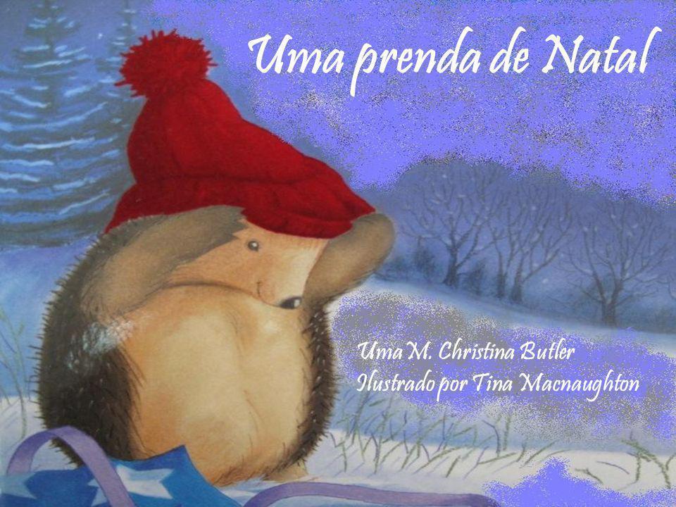 O vento gelado acordou o Pequeno Ouriço-Cacheiro do seu profundo sono de Inverno.
