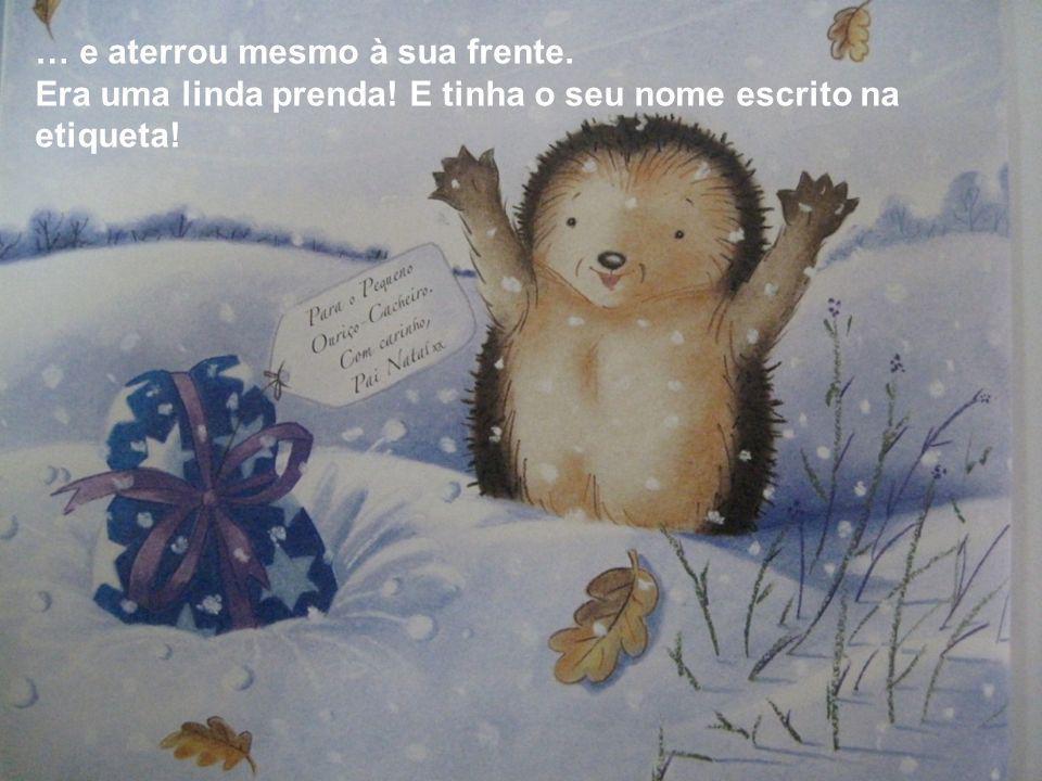 – Uma prenda de Natal? – exclamou o Texugo, muito admirado. – Para MIM?