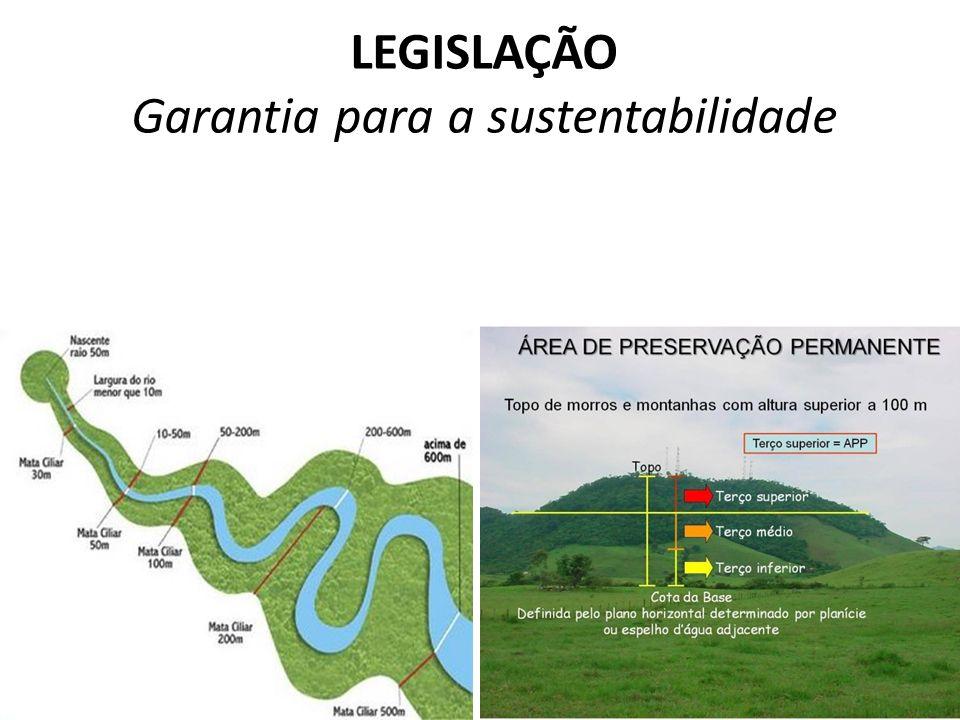 LEGISLAÇÃO Garantia para a sustentabilidade