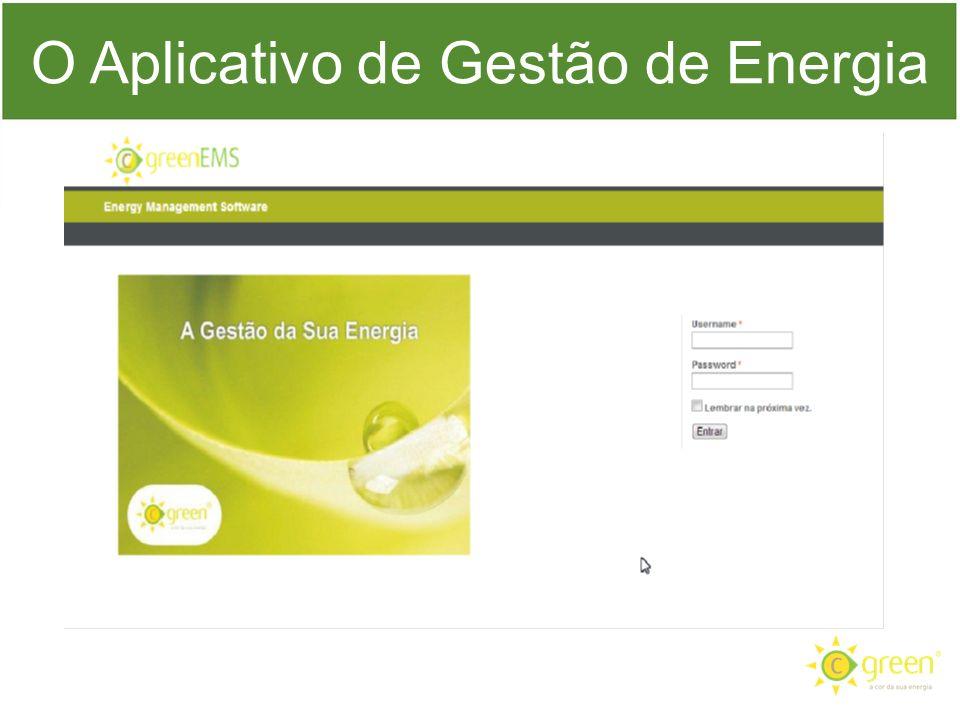 O Aplicativo de Gestão de Energia