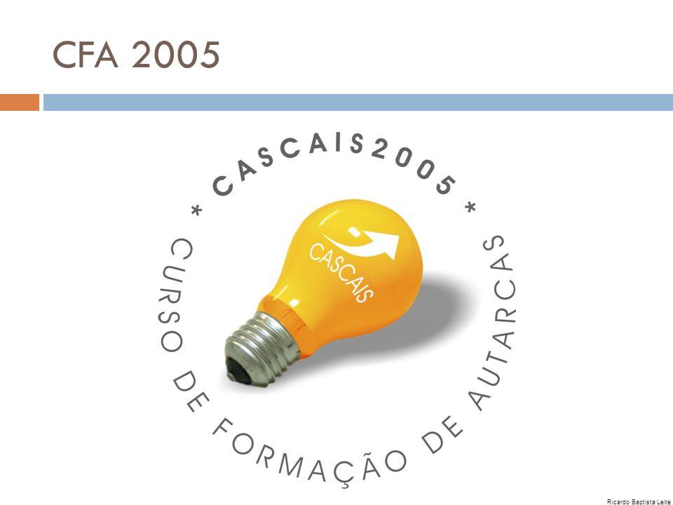 CFA 2005 Ricardo Baptista Leite