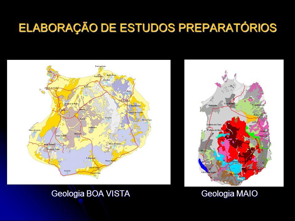 ELABORAÇÃO DE ESTUDOS PREPARATÓRIOS Geologia BOA VISTA Geologia MAIO