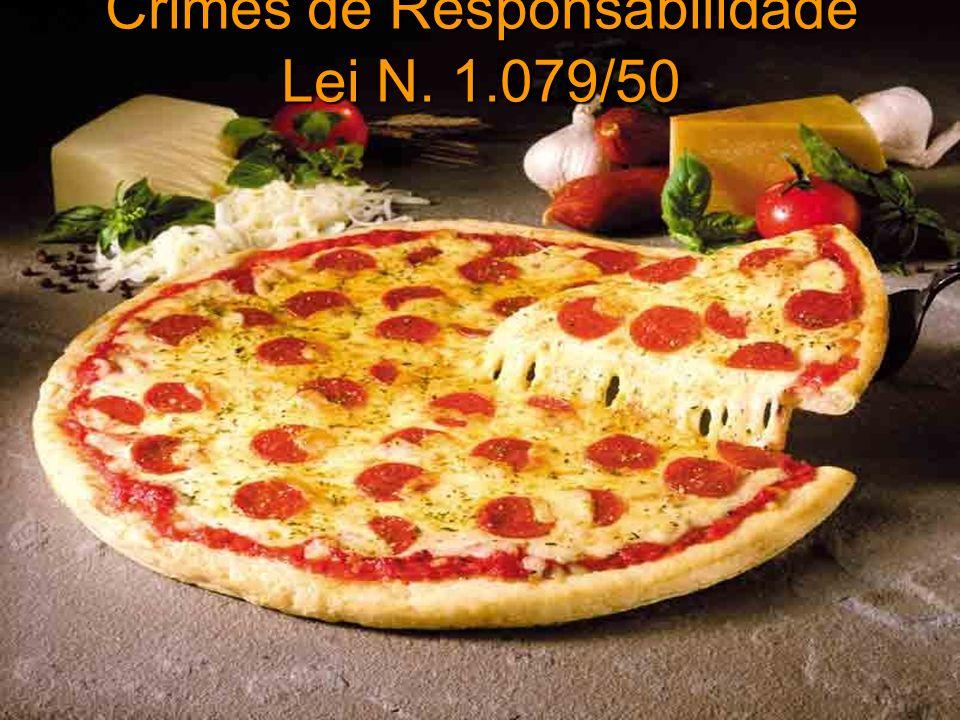 Crimes de Responsabilidade Lei N. 1.079/50