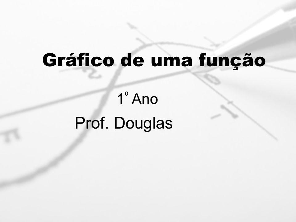 Gráfico de uma função 1 Ano Prof. Douglas