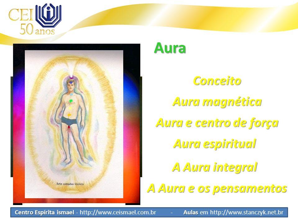 Aura Conceito Aura magnética Aura e centro de força Aura espiritual A Aura integral A Aura e os pensamentos