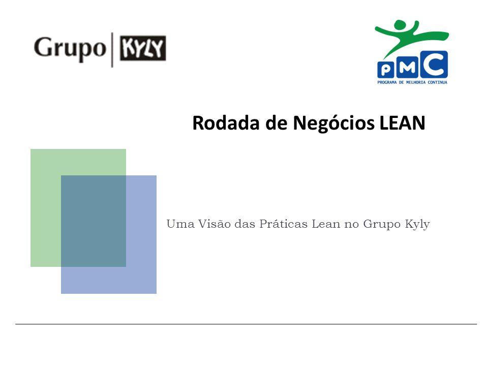 Rodada de Negócios LEAN Uma Visão das Práticas Lean no Grupo Kyly