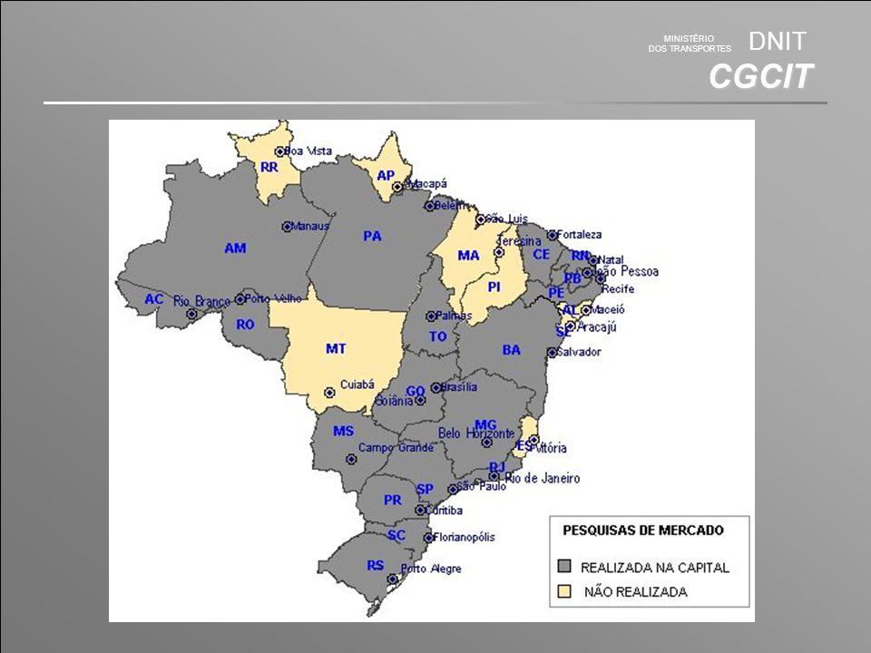 MINISTÉRIO DOS TRANSPORTES DNIT CGCIT SICRO 2 - Atual