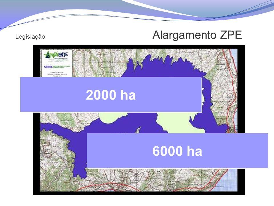 Legislação Alargamento ZPE 2000 ha 6000 ha