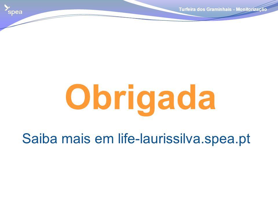 Turfeira dos Graminhais - Monitorização Obrigada Saiba mais em life-laurissilva.spea.pt