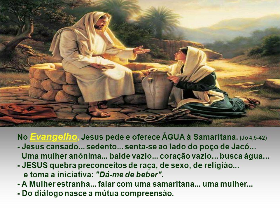 Na 2ª Leitura, Paulo resume a fé da Igreja no dom da água viva presente na vida de cada discípulo de Cristo.