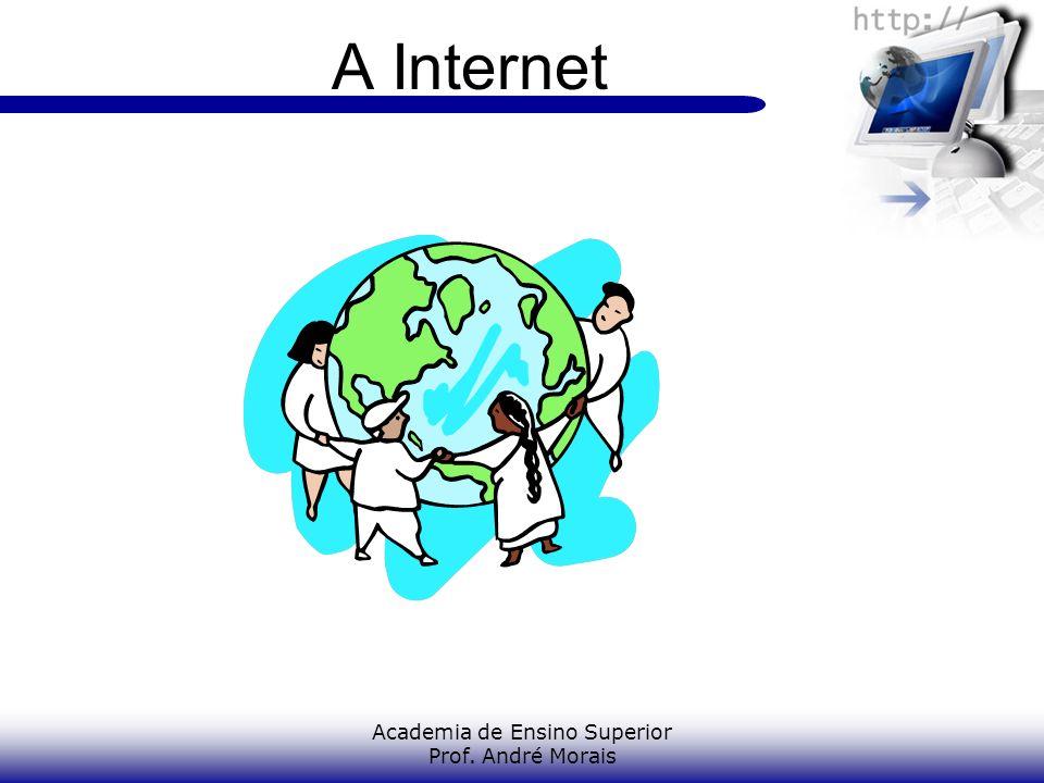 Academia de Ensino Superior Prof. André Morais A Internet