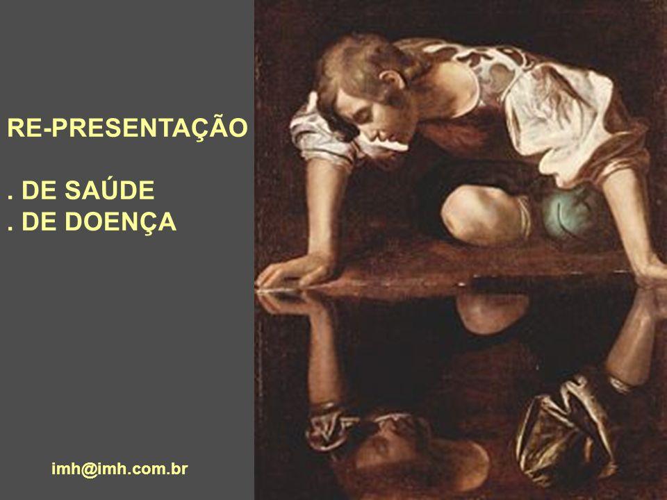 RE-PRESENTAÇÃO. DE SAÚDE. DE DOENÇA