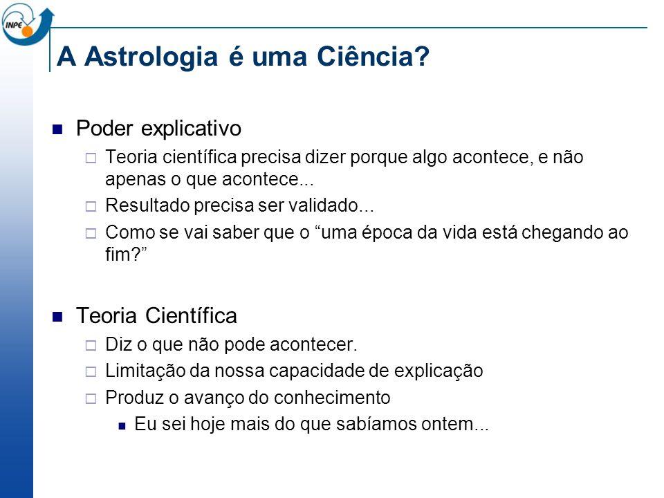 A Astrologia é uma Ciência.