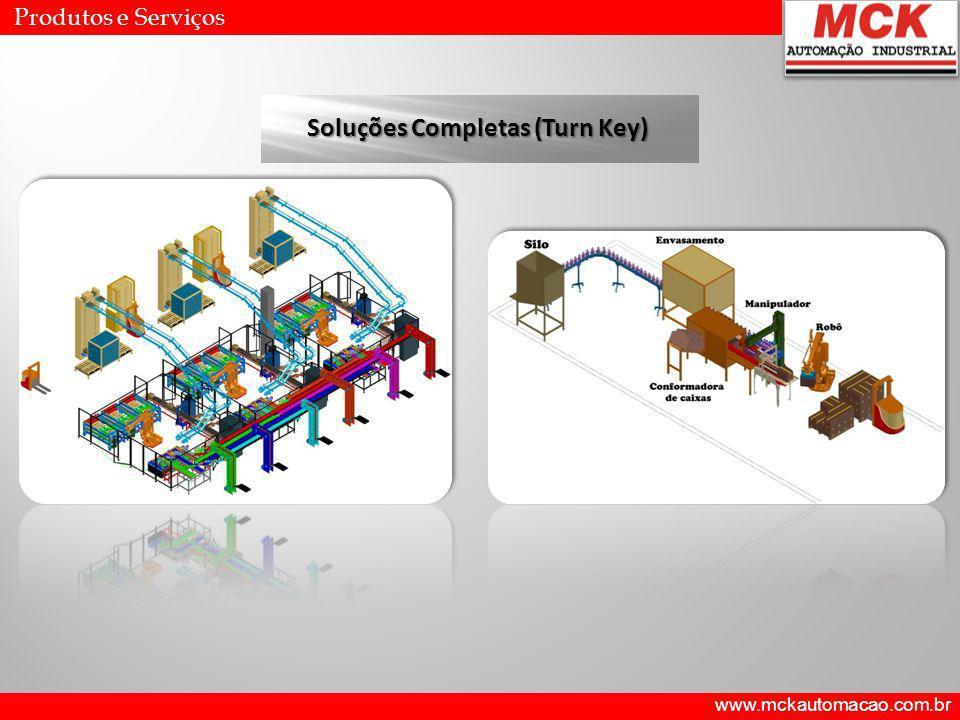 www.mckautomacao.com.br Produtos e Serviços Soluções Completas (Turn Key)