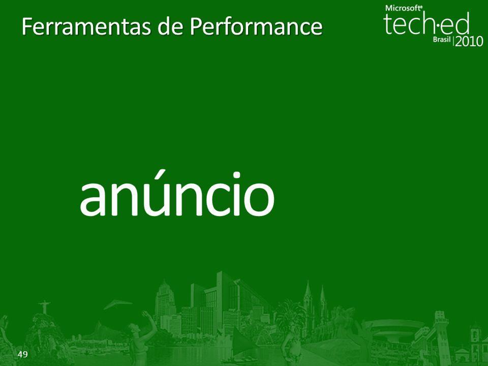 49 Ferramentas de Performance