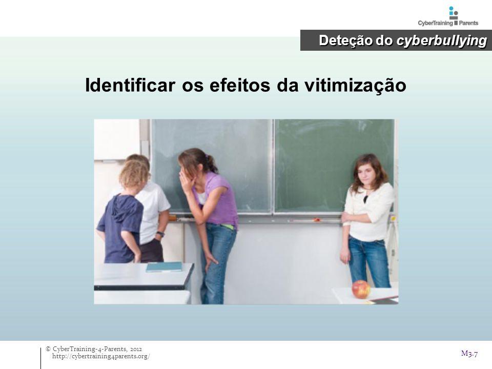 Cyber- bullying Parte II: Intervenção O que podem os pais fazer se o(a) seu(sua) filho(a) for afetado(a).