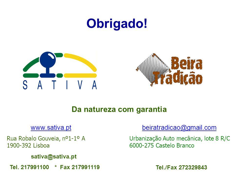 Rua Robalo Gouveia, nº1-1º A 1900-392 Lisboa sativa@sativa.pt Tel. 217991100 * Fax 217991119 www.sativa.ptwww.sativa.pt beiratradicao@gmail.combeiratr