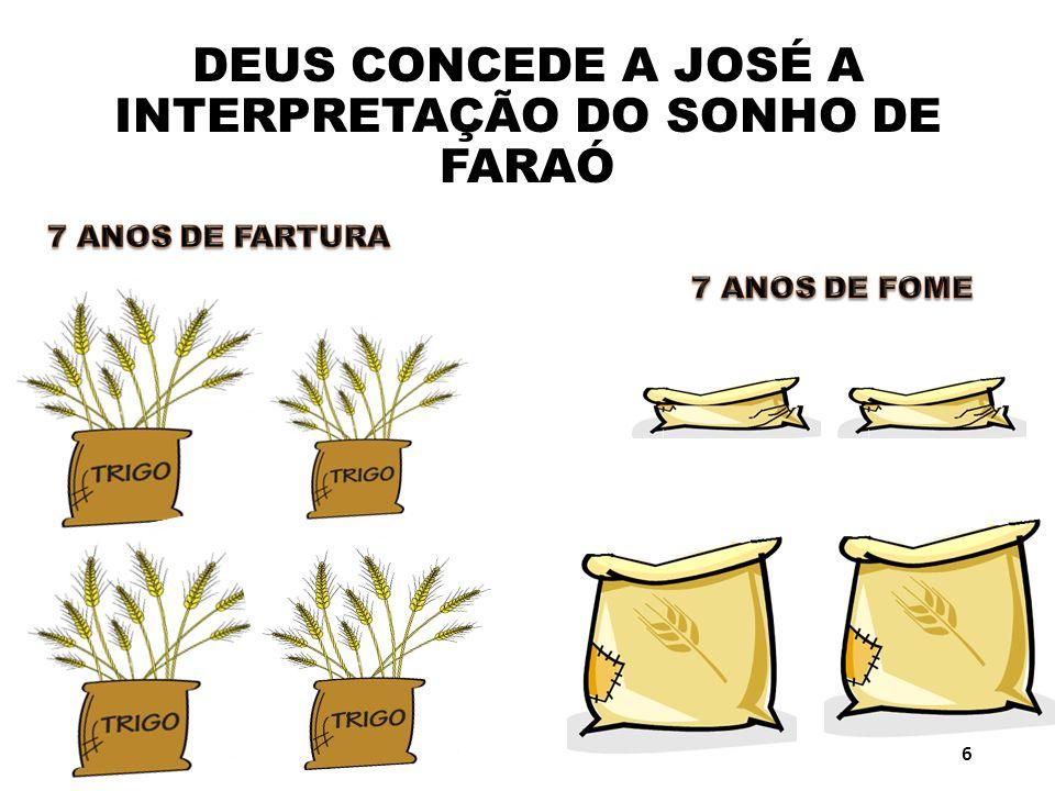 DEUS CONCEDE A JOSÉ A INTERPRETAÇÃO DO SONHO DE FARAÓ 6