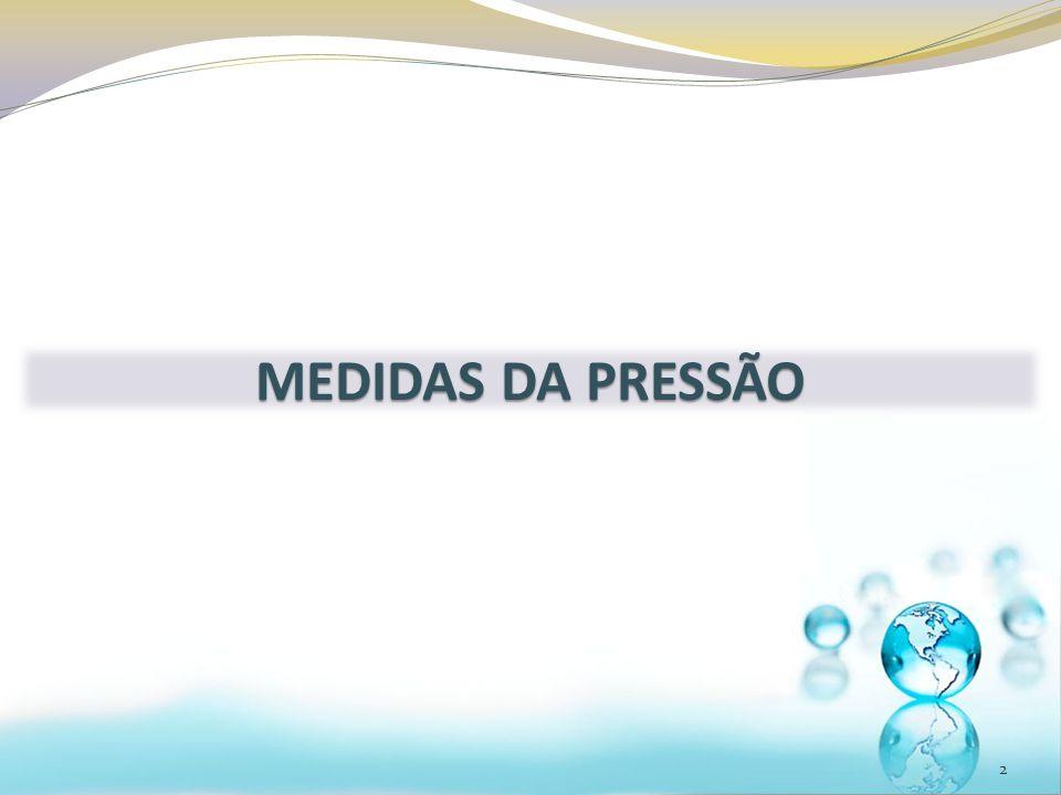 2 MEDIDAS DA PRESSÃO
