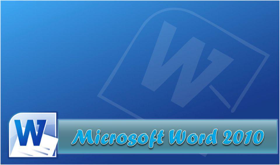 O que é o Word.