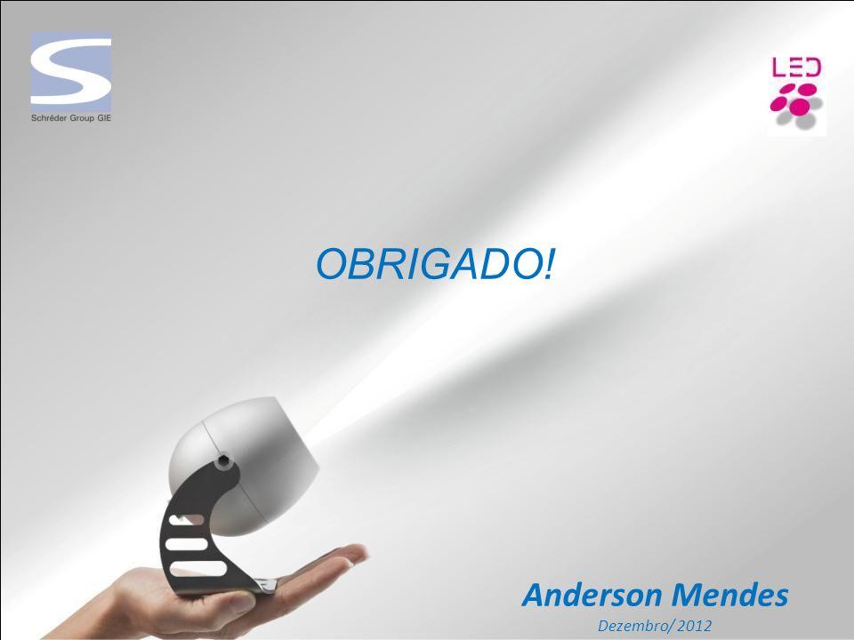 OBRIGADO! Anderson Mendes Dezembro/ 2012