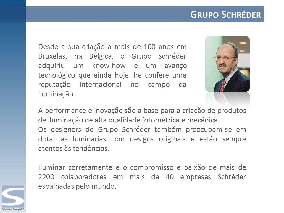 Ser local demonstra a vontade da Schréder de contribuir para o desenvolvimento sustentável das gerações futuras.