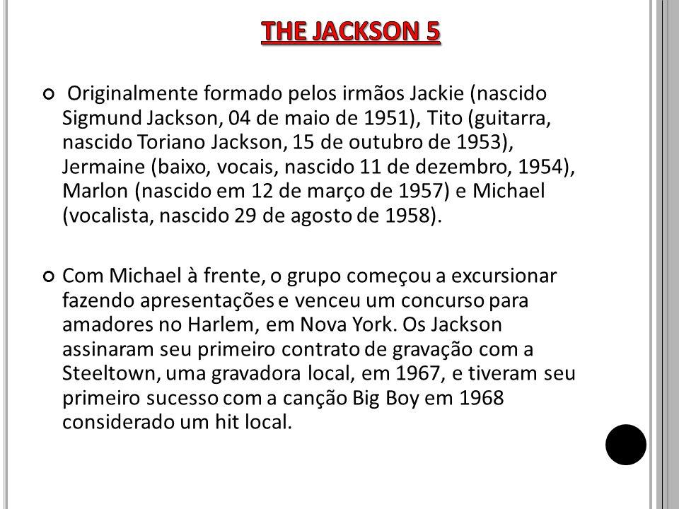 Originalmente formado pelos irmãos Jackie (nascido Sigmund Jackson, 04 de maio de 1951), Tito (guitarra, nascido Toriano Jackson, 15 de outubro de 195