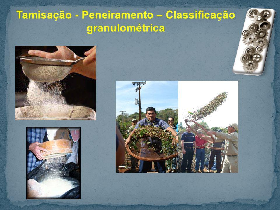 Exemplo: Uma peneira é alimentada com 500 kg de cevada moída que apresenta 30% da fração desejada (partículas menores que a abertura da peneira em análise).