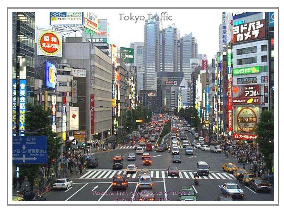 Tokyo Traffic Tokyo Traffic Pesquisa: Prof. Ramon Armesto Mondelo ramondelo@uol.com.br