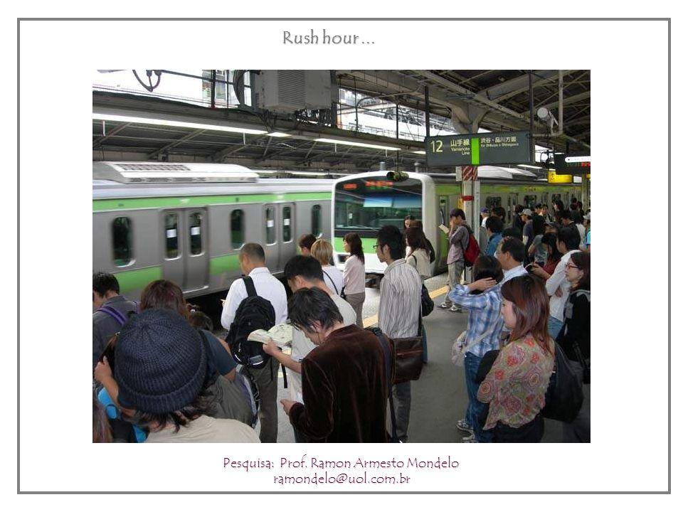 Urban Transportation – JR train Pesquisa: Prof. Ramon Armesto Mondelo ramondelo@uol.com.br