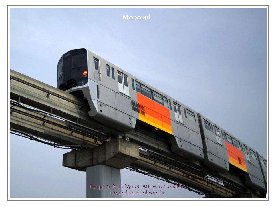 Monorail station Pesquisa: Prof. Ramon Armesto Mondelo ramondelo@uol.com.br