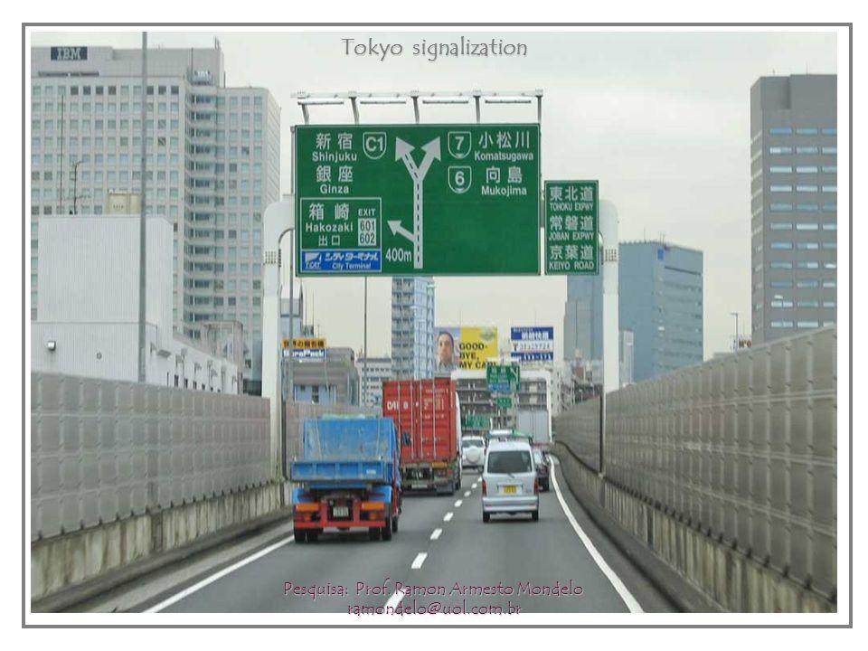 Tokyo Traffic Control Center Tokyo Traffic Control Center Pesquisa: Prof.