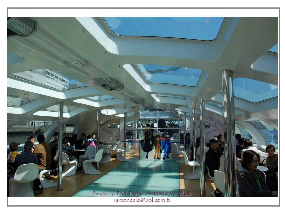 Tokyo River Cruise - Himiko Boat Pesquisa: Prof. Ramon Armesto Mondelo ramondelo@uol.com.br