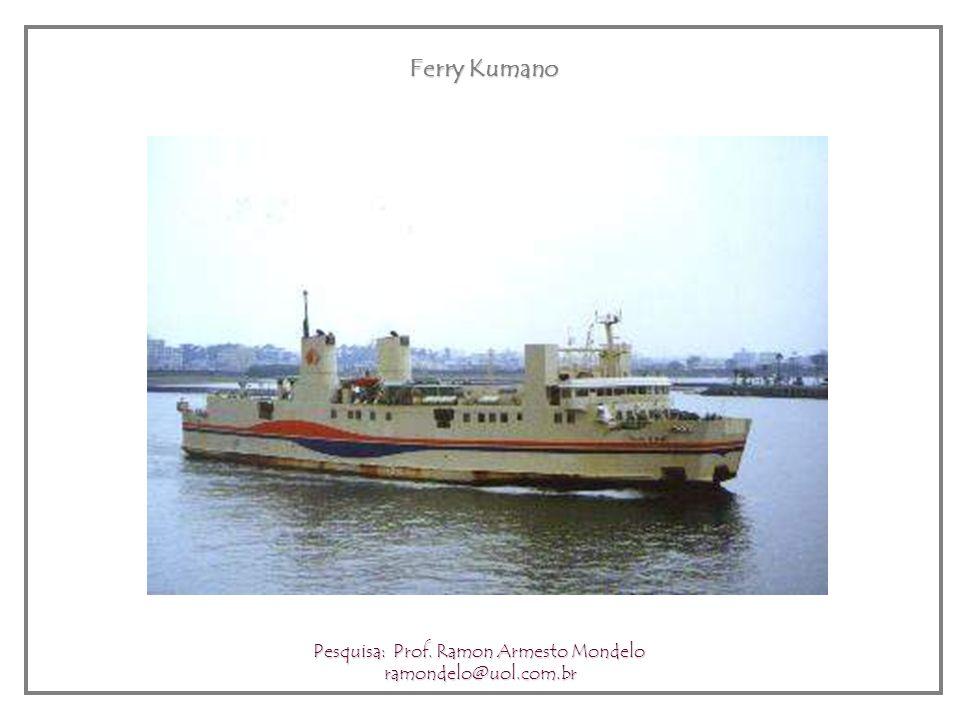 Tokyo Bay Ferry Pesquisa: Prof. Ramon Armesto Mondelo ramondelo@uol.com.br