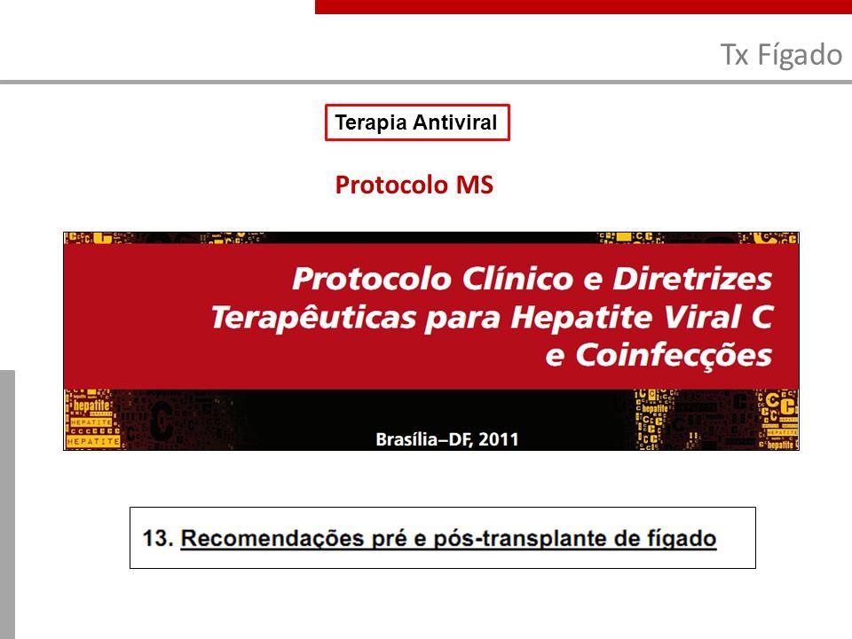 Tx Fígado Protocolo MS Terapia Antiviral