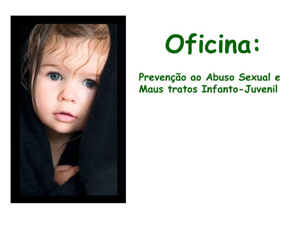 CONCEITO DE ABUSO SEXUAL É o envolvimento de crianças ou adolescentes em atividades sexuais inadequadas a sua idade ou ao seu desenvolvimento psicossexual e as quais não têm capacidade de compreender ou dar consentimento pleno.