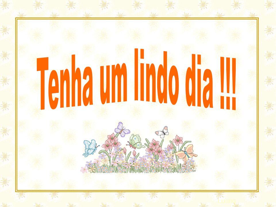 Esse slide foi feito por Luana Rodrigues Em 24.06.03 – luannarj@uol.com.br www.luannarj.hpg.ig.com.br Vc não tem direito de alterar nada nele.. Eu sou