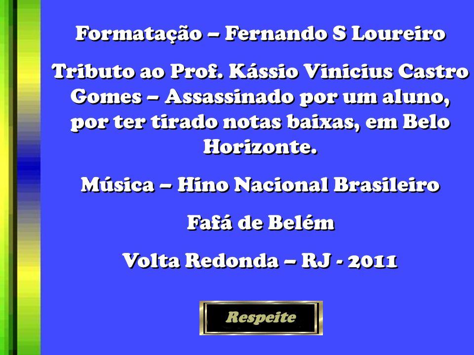 Formatação – Fernando S Loureiro Tributo ao Prof.
