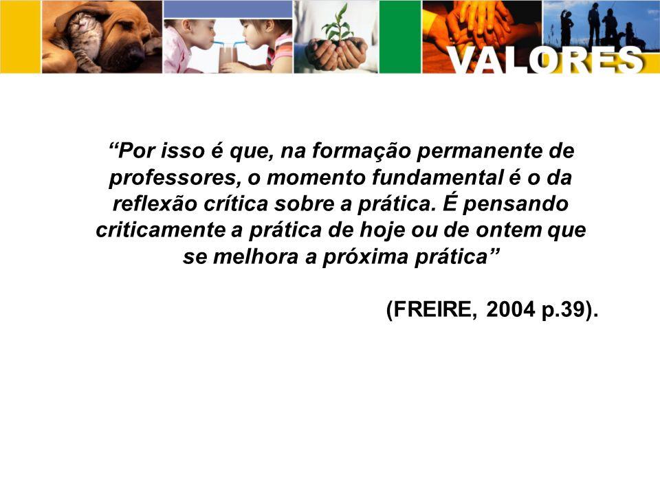 - Para Paulo Freire o conhecimento, deve preparar os educandos para a inserção na sociedade.